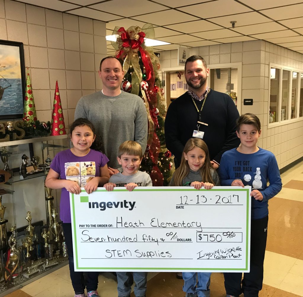 What Is A Stem Elementary School: Ingevity Donates Over $5,000 In Support Of STEM At